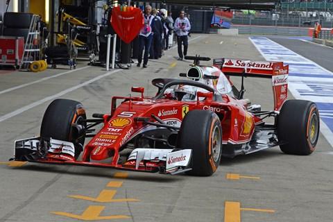 Ferrari F1 halo front quarter