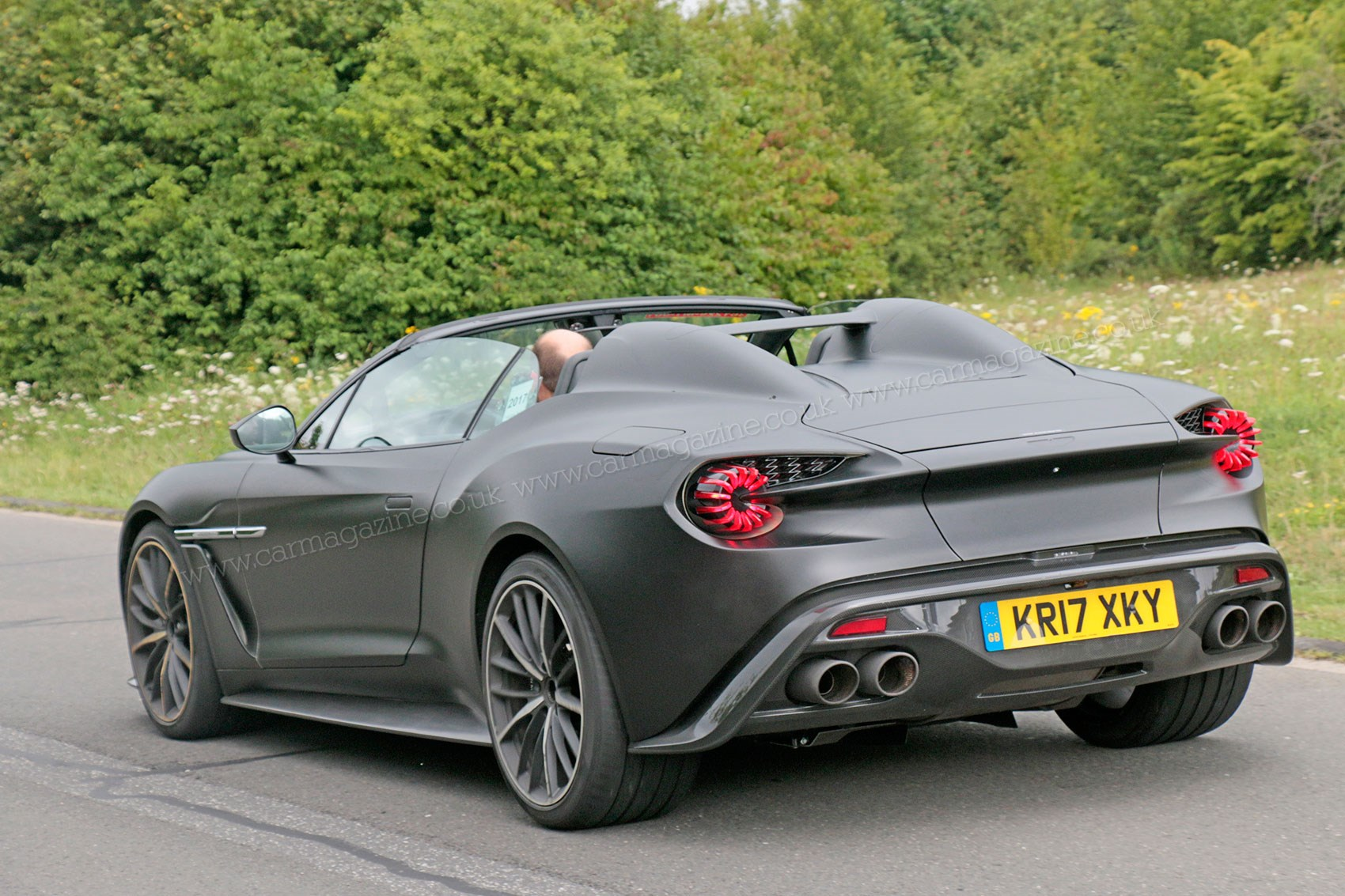 Aston Martin Vanquish Zagato Volante And Speedster 2018 Spy Photos Car Magazine
