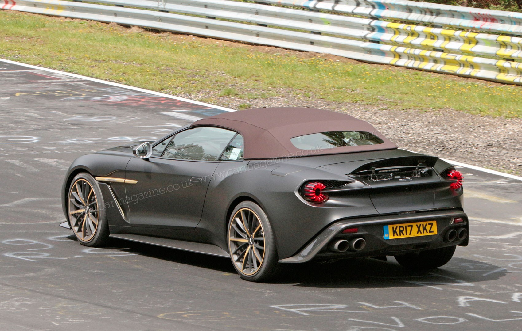 Aston Martin Vanquish Zagato Volante And Speedster Spy Photos - Aston martin volante