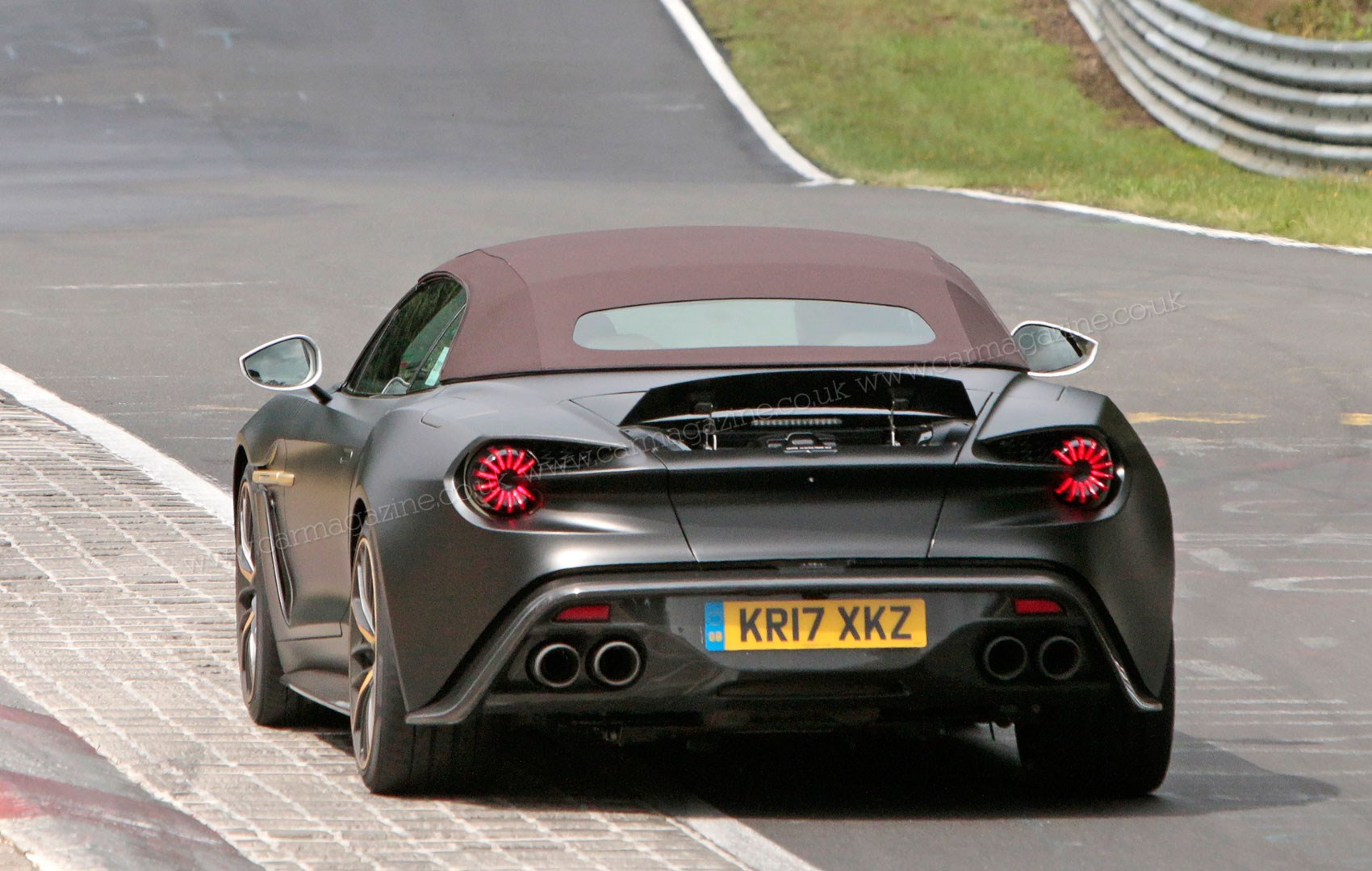 Aston Martin Vanquish Zagato Volante And Speedster Spy Photos