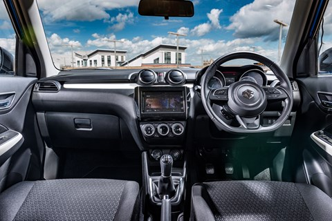 Suzuki Swift interior 2017