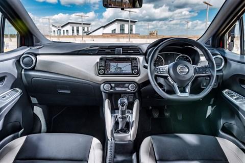 2017 Nissan Micra interior