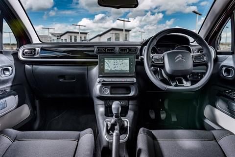 Citroen C3 interior 2017