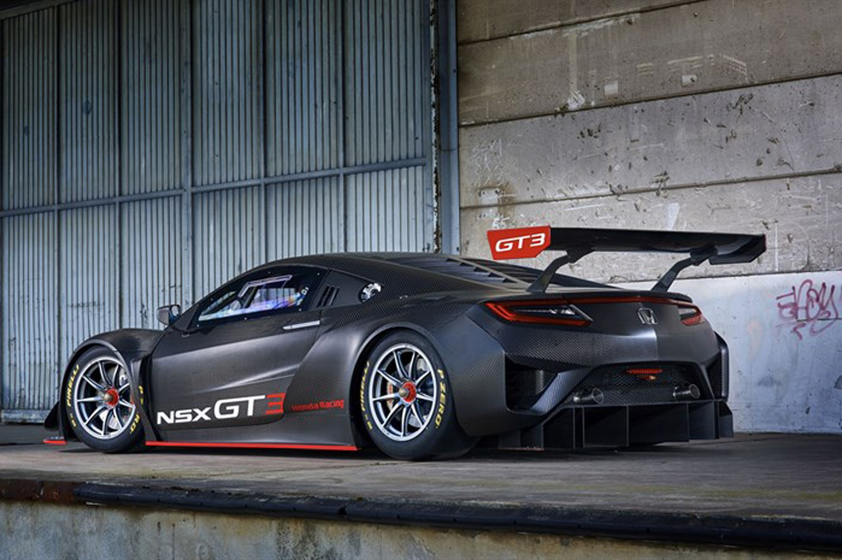 a honda nsx gt3 race car could be yours by car magazine. Black Bedroom Furniture Sets. Home Design Ideas