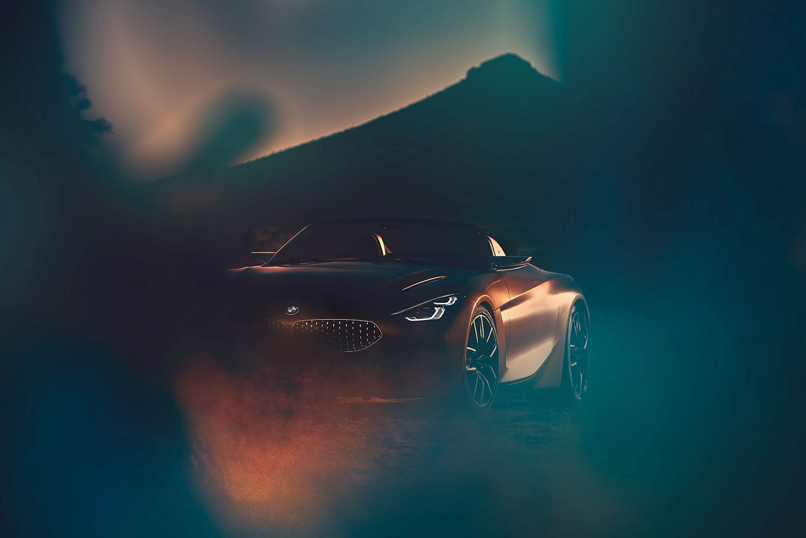 2018 bmw z4 concept. plain 2018 the latest twitter tease the new bmw z4 concept ahead of its pebble  beach premiere throughout 2018 bmw z4