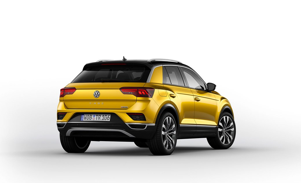 VW T-Roc rear end