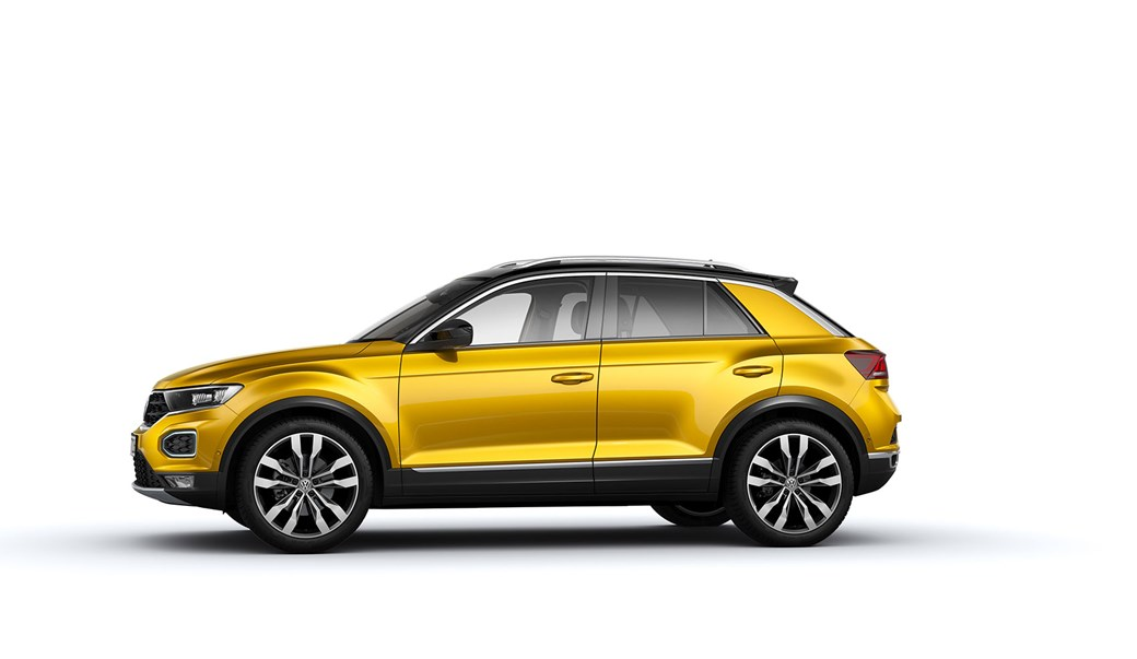 Volkswagen T-Roc side profile