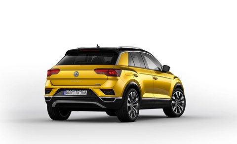 VW T-Roc rear end