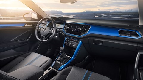 Inside the new VW T-Roc interior