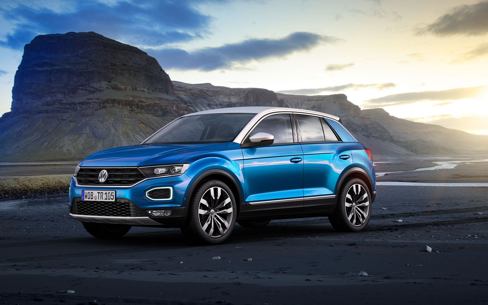 The New Volkswagen T Roc Slots Beneath The Tiguan ...