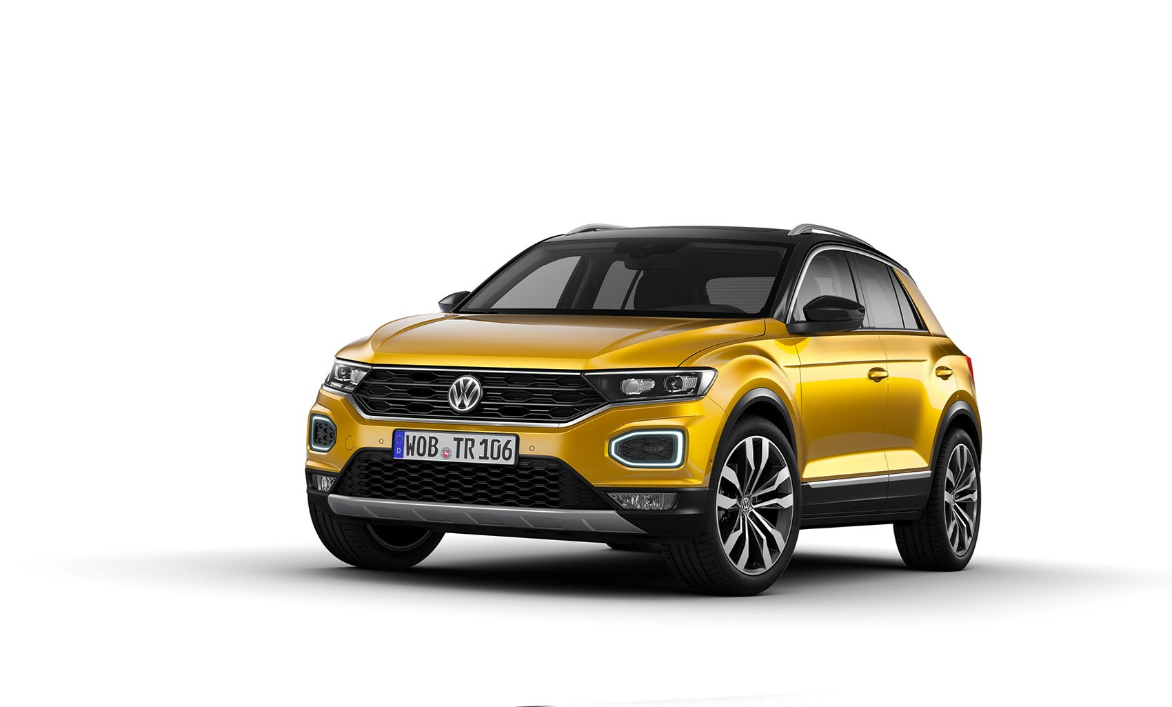 VW Golf SUV Comes As The 2018 VW T-Roc >> Vw T Roc Revealed News Photos Specs Prices Car Magazine