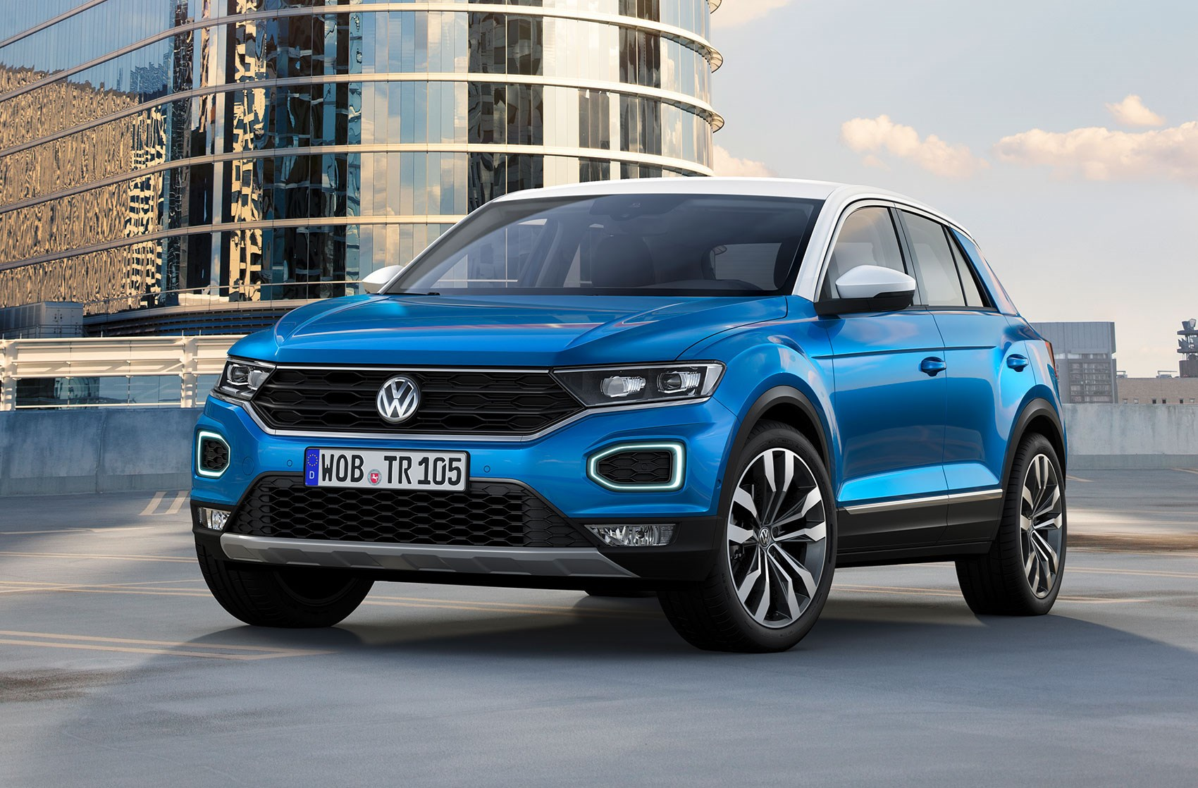 ... The 2017 VW T Roc SUV ...