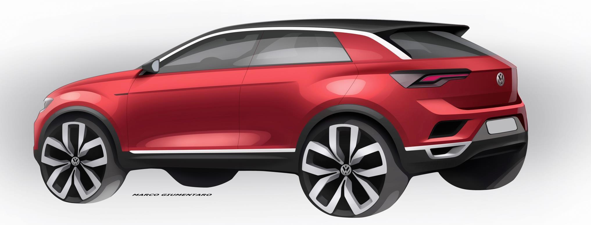 vw t roc revealed news photos specs prices car magazine. Black Bedroom Furniture Sets. Home Design Ideas