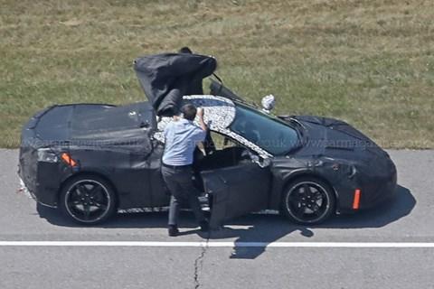 Mid-engined Corvette?