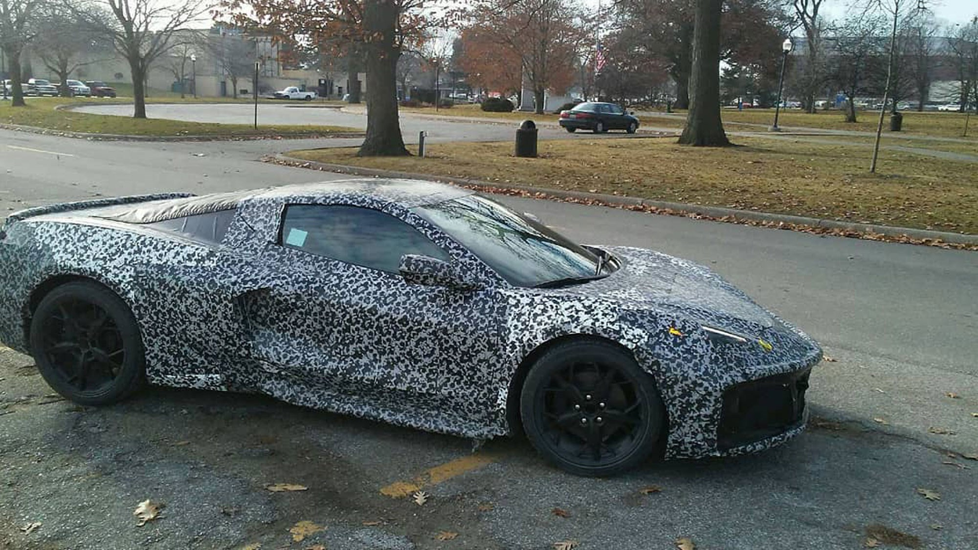 C8 Corvette Release Date >> Mid Engined Corvette C8 New Logo And Release Date Revealed