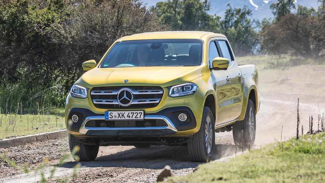 Mercedes X Class Pickup 2017 Review Car Magazine