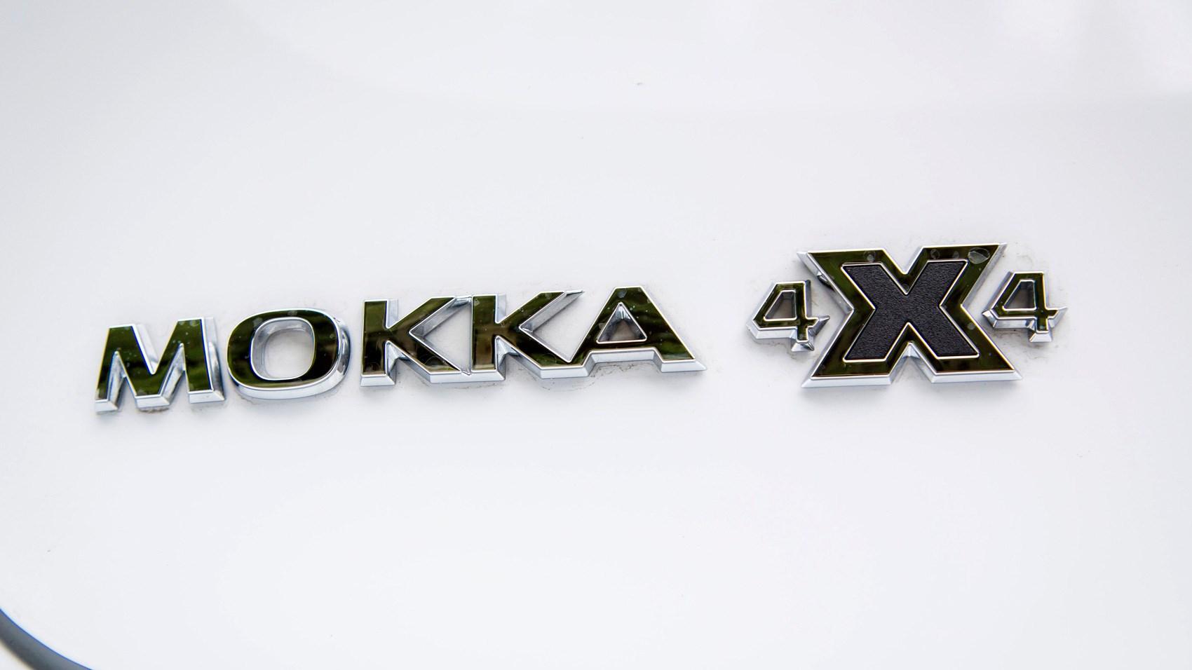 Vauxhall Mokka X badge