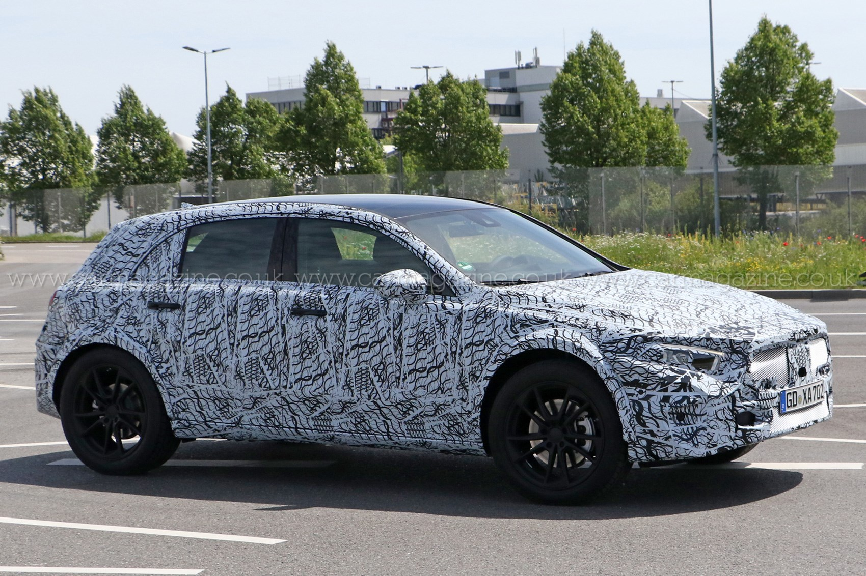 Next-gen Mercedes GLA gets in shape for 2019 by CAR Magazine