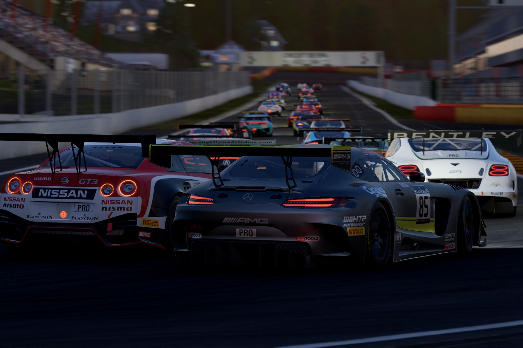 Project cars new mercedes amg gt3 previews virtualr sim racing - Advertisement