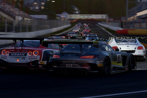 Project CARS 2 GT3 race