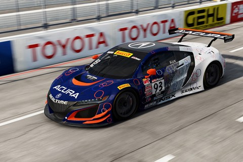 Project CARS 2 GT3 NSX