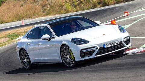 Porsche Panamera Turbo S E,hybrid (2017) review