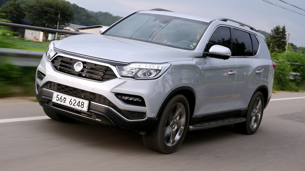 Ssangyong Rexton Suv 2017 Review