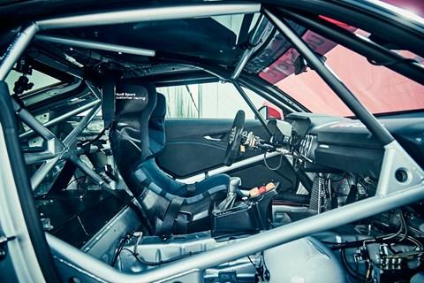 Audi Sport TT cup car interior
