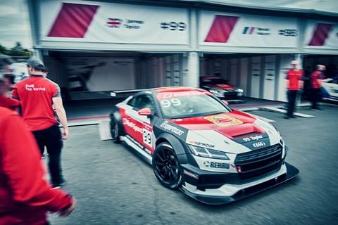 Audi TT cup car