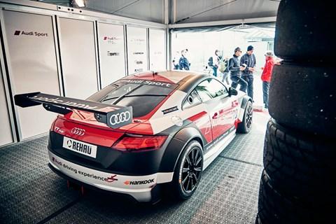 Audi Sport TT Cup pit