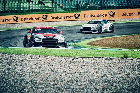 Audi Sport TT Cup cornering 2