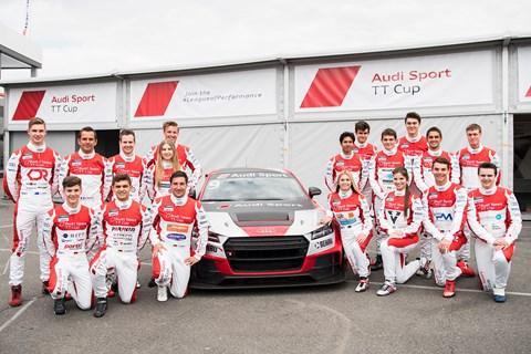 Audi Sport TT Cup 2017 drivers