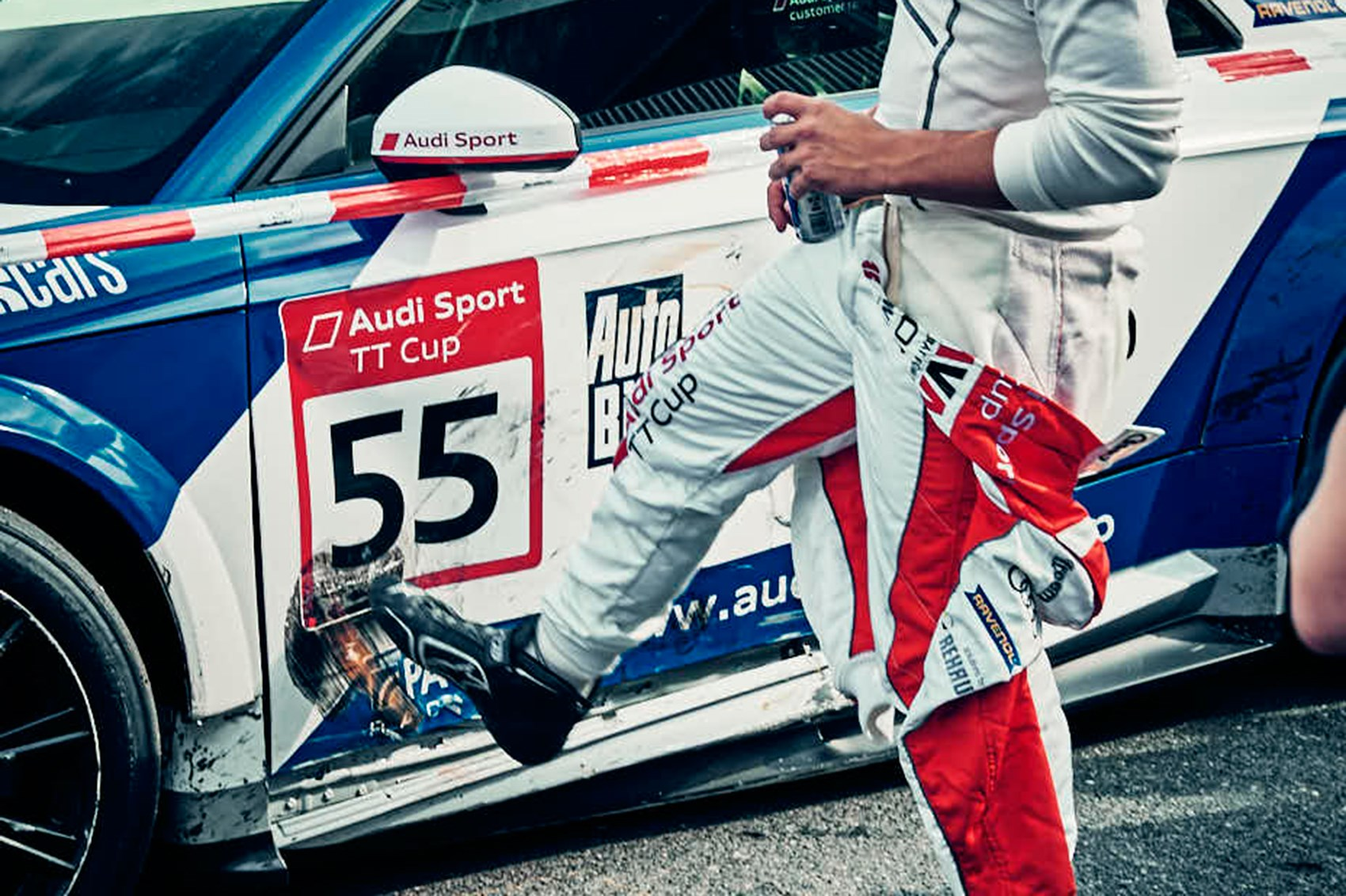 CAR magazine races in the 2017 Audi Sport TT Cup by CAR Magazine