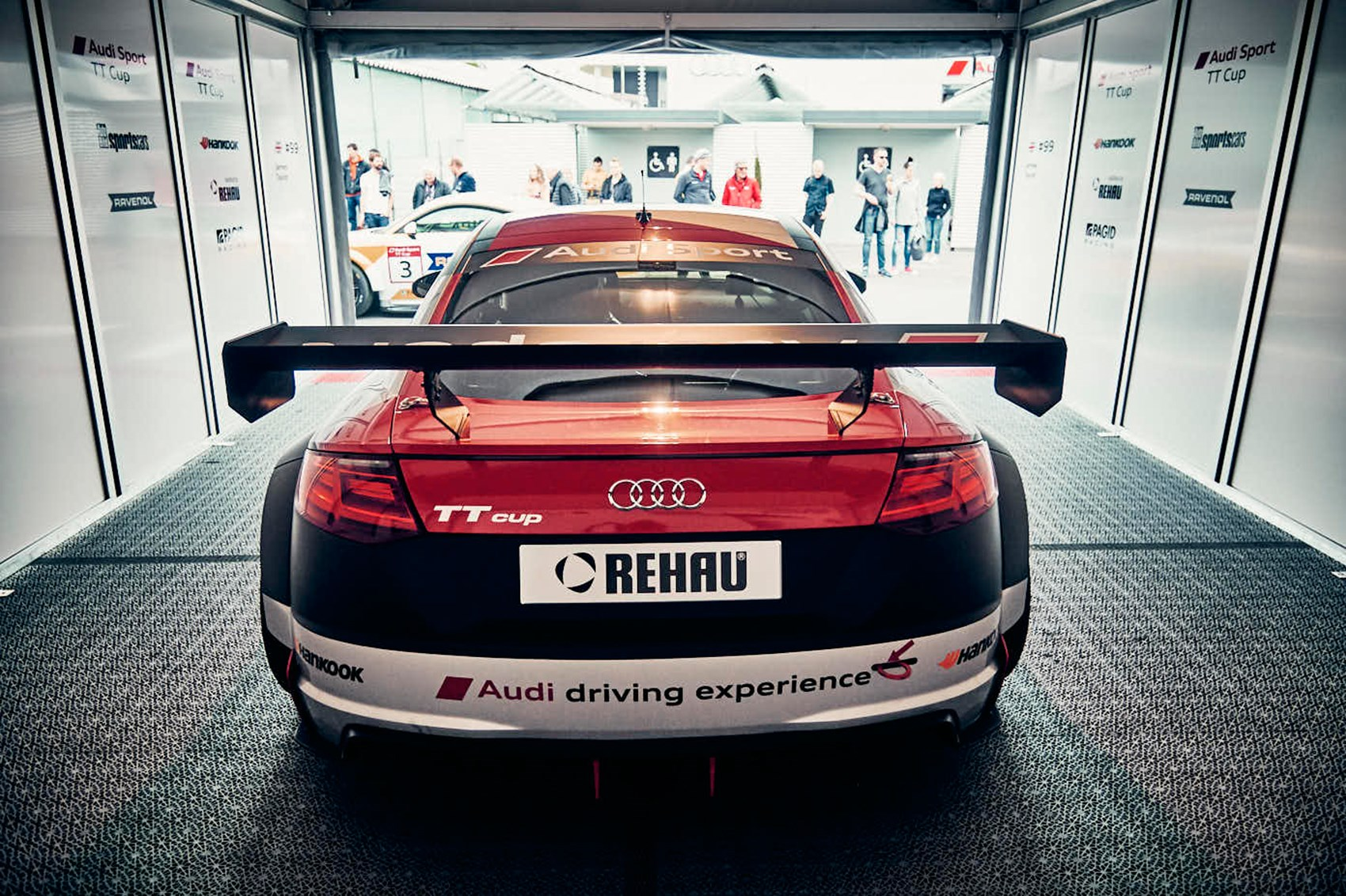 car magazine races in the 2017 audi sport tt cup by car magazine. Black Bedroom Furniture Sets. Home Design Ideas
