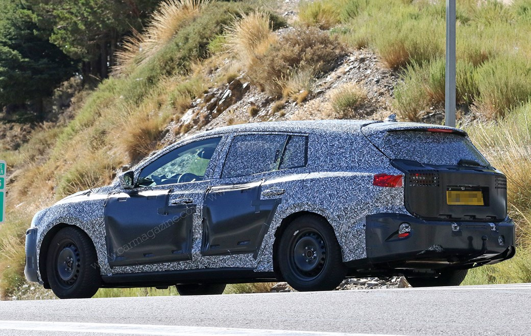 New 2019 Ford Focus Estate: spy photos