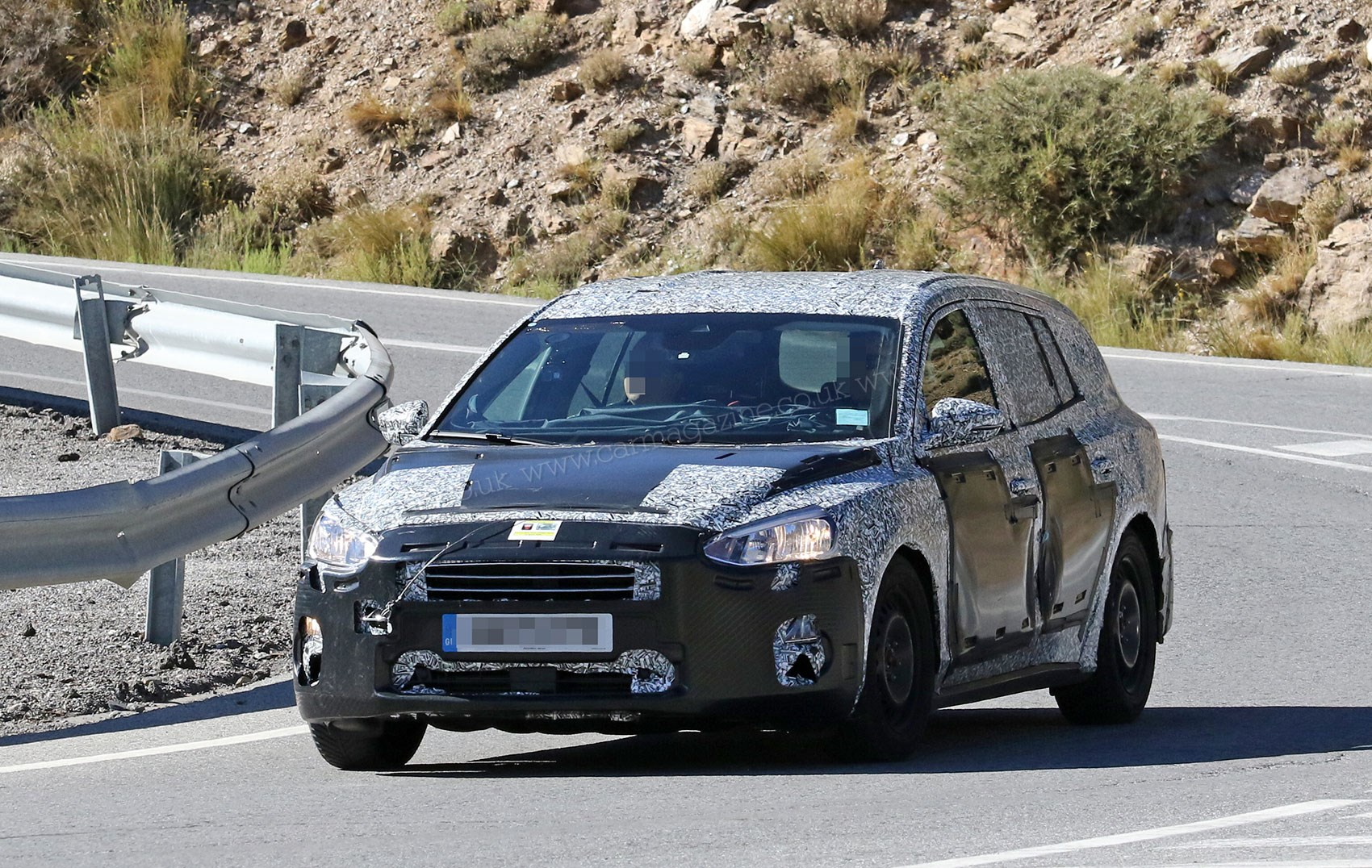New 2019 Ford Focus Estate Spied