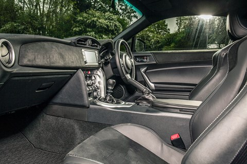 Toyota GT86 Pro spec interior and cabin