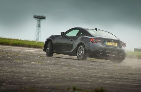 Toyota GT86 drift: this is what our coupe does best
