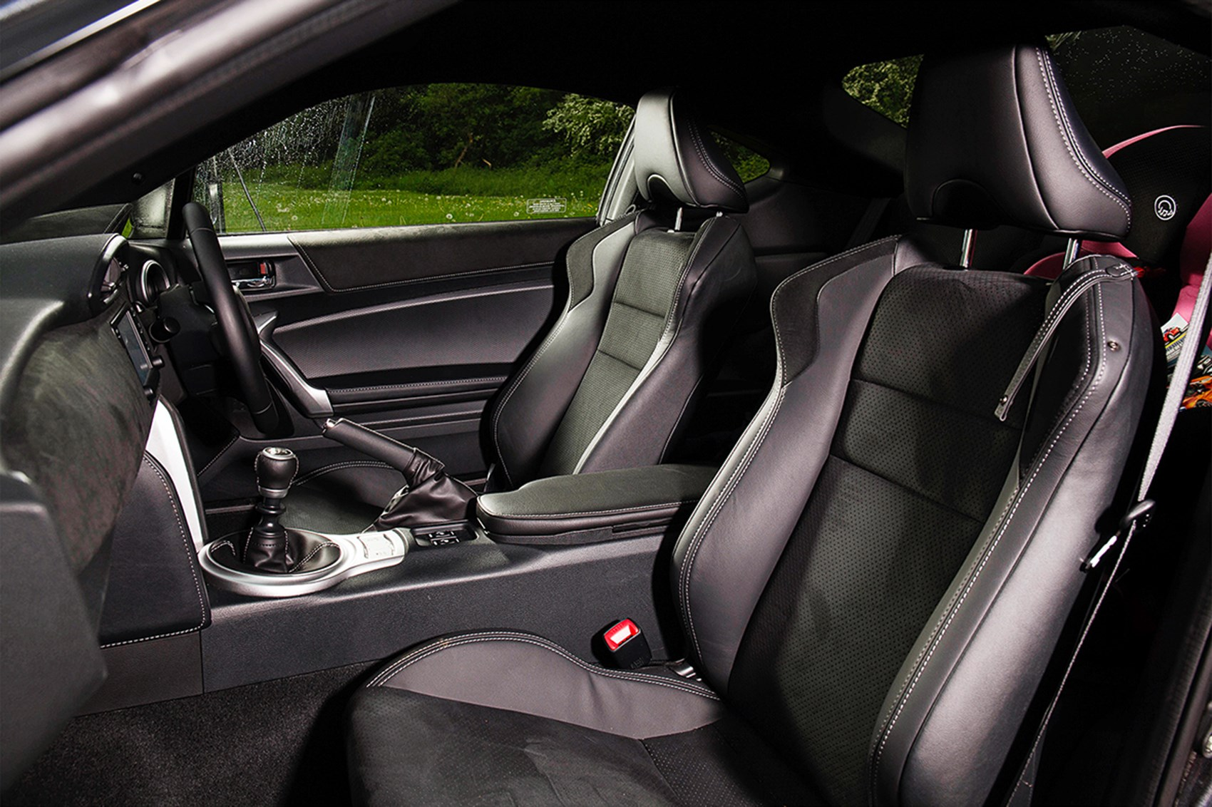Toyota 86 rear seats