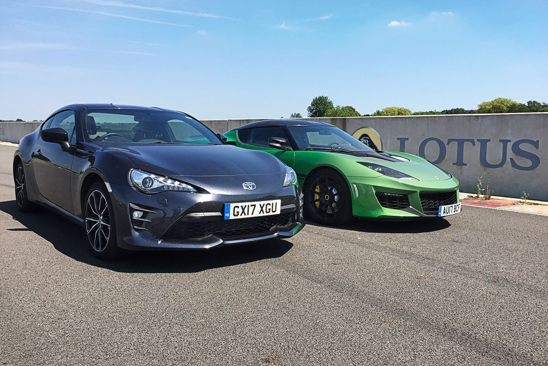 Our Toyota Gt86 Pro Meets A Lotus Evora Sport 410 Car S