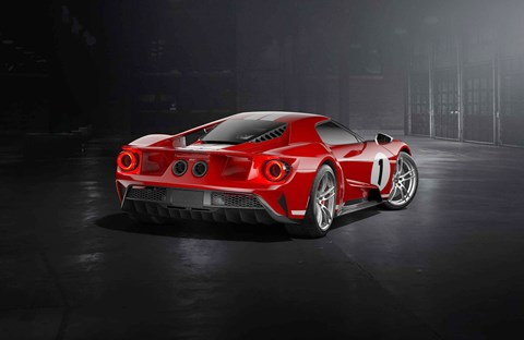 A limited edition, but how limited? The new 2017 Ford GT 1967 Heritage edition