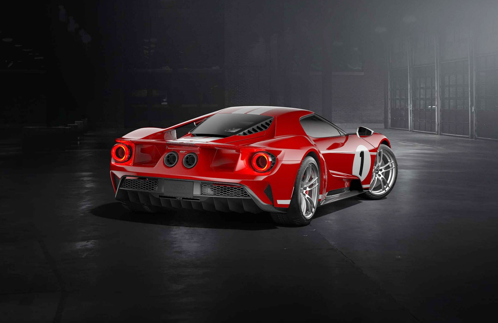 The New  Ford Gt  Heritage Edition