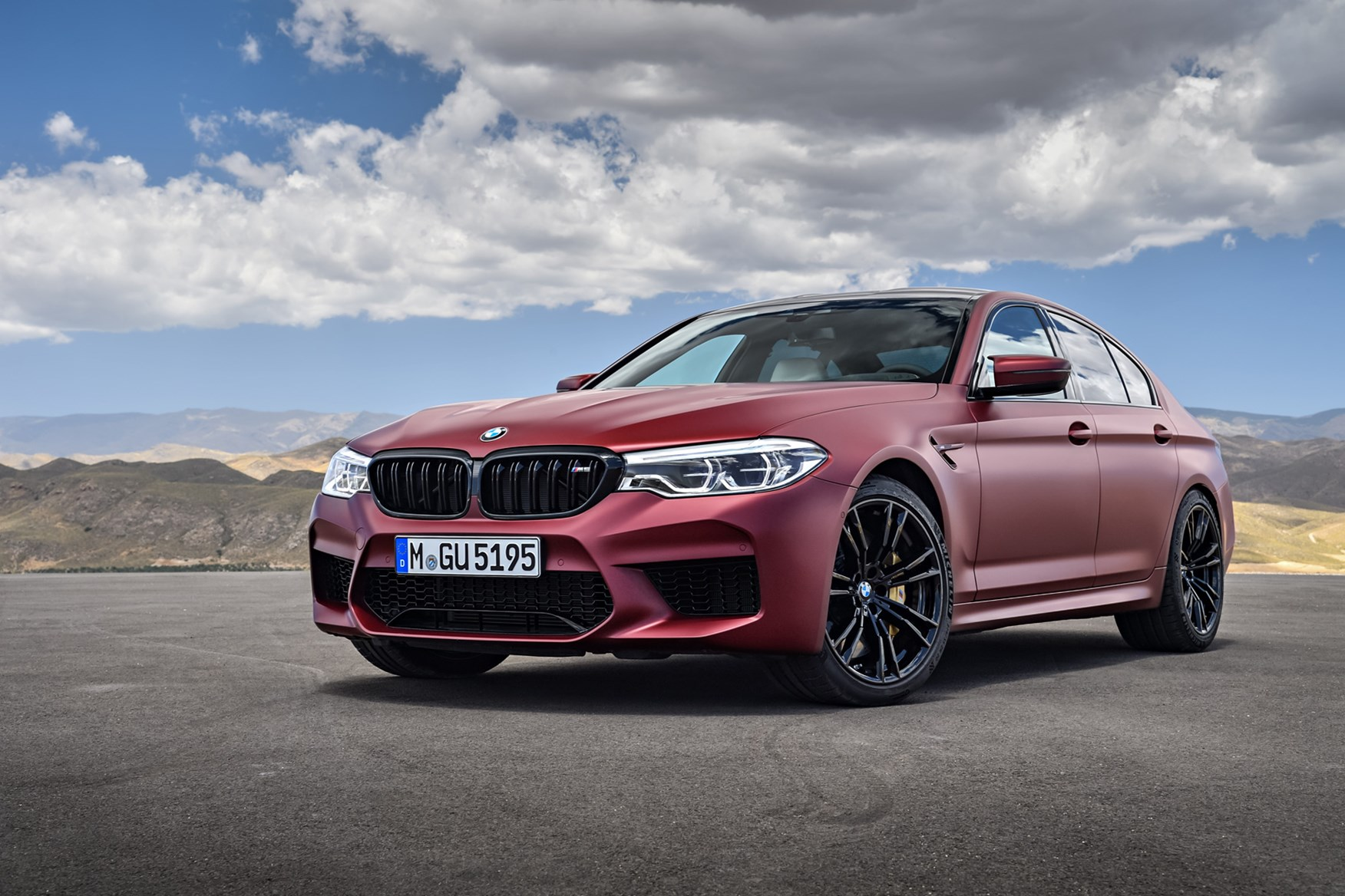 new bmw m5 revealed the first m5 is alive