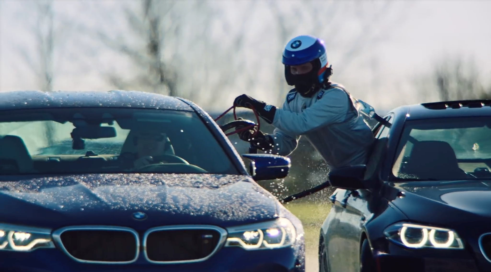 Watch a 2018 BMW M5 set a new drifting record – and refuel while
