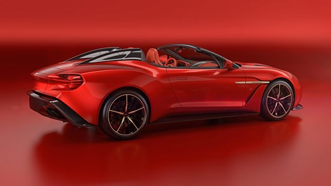 Aston Martin Vanquish Zagato Speedster: official pictures