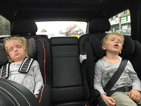 Volvo V90 refinement: so quiet, young children will snooze away while you drive