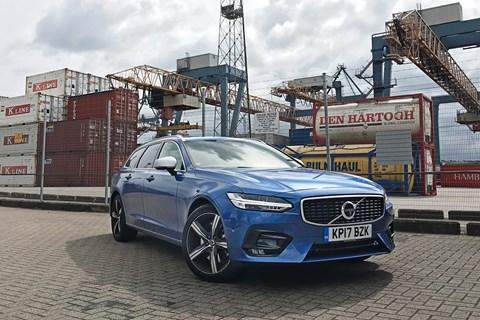 Volvo V90 front quarter