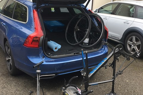 Volvo V90 boot equipment