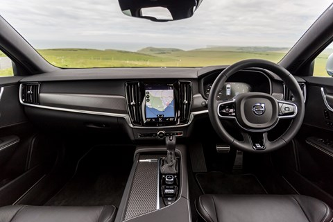 Volvo V90 long-term interior