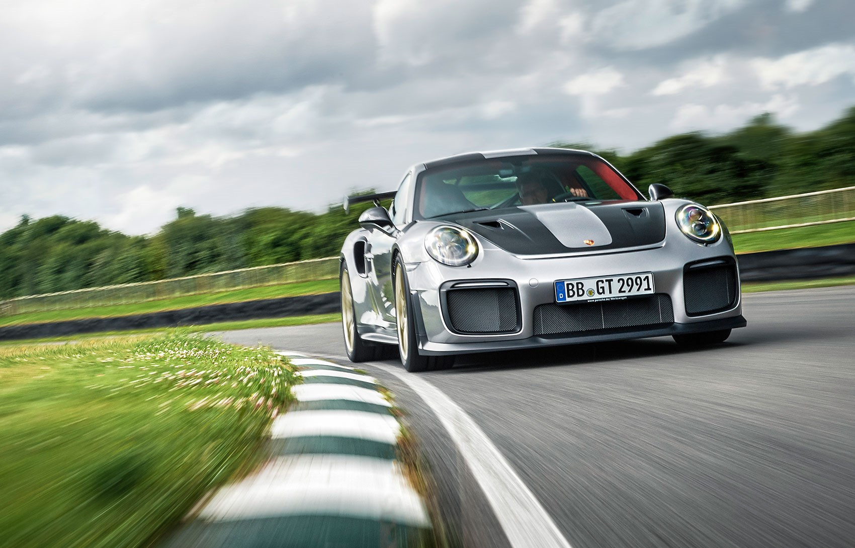 CAR Hitches A Ride In The New Porsche 911 GT2 RS ...
